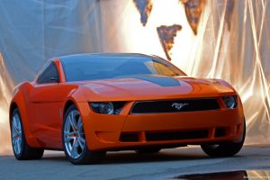 Ford Mustang Giugiaro Concept Wide