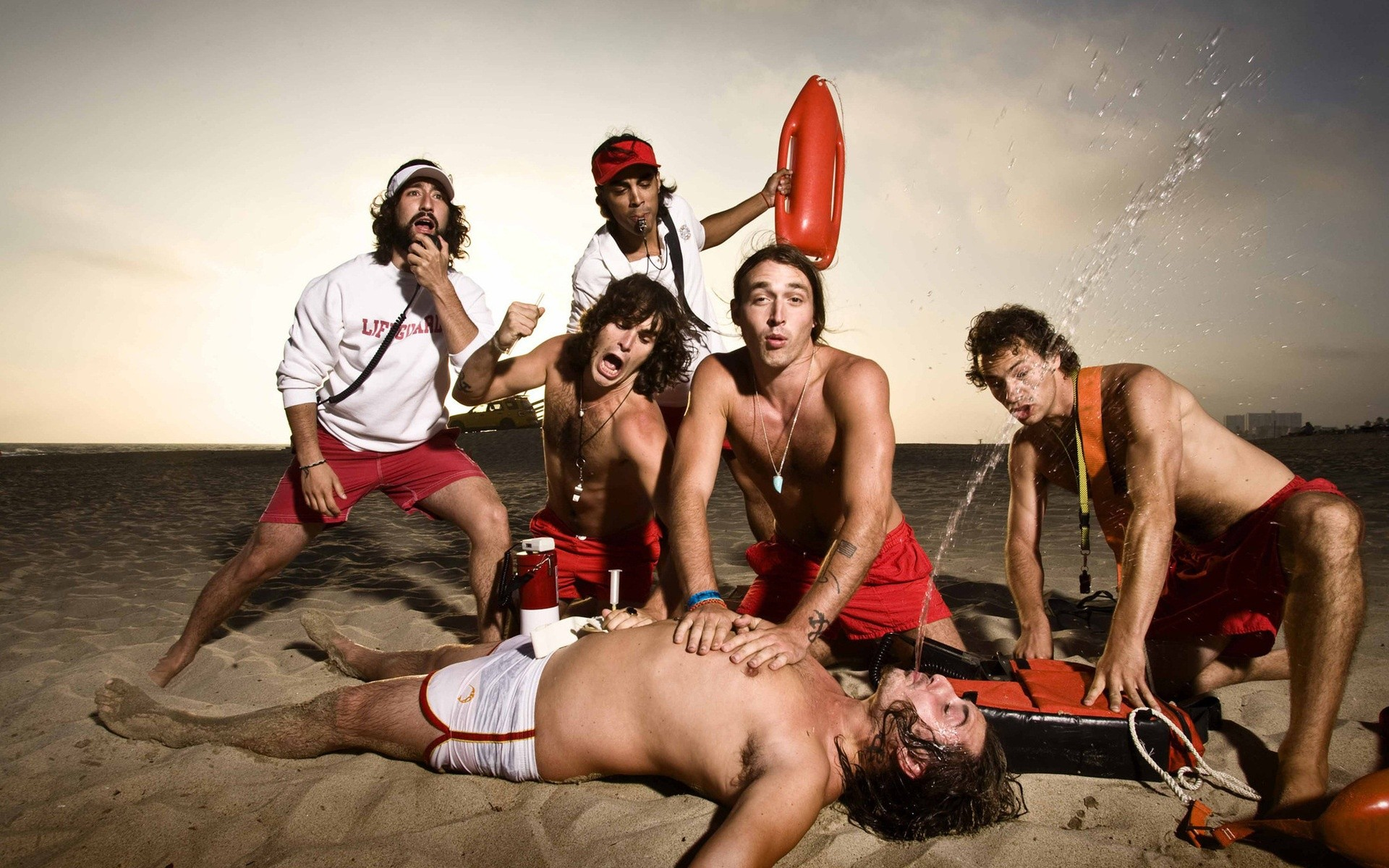 Funny Lifeguards Wide