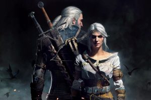 Geralt Ciri The Witcher 3 Wild Hunt