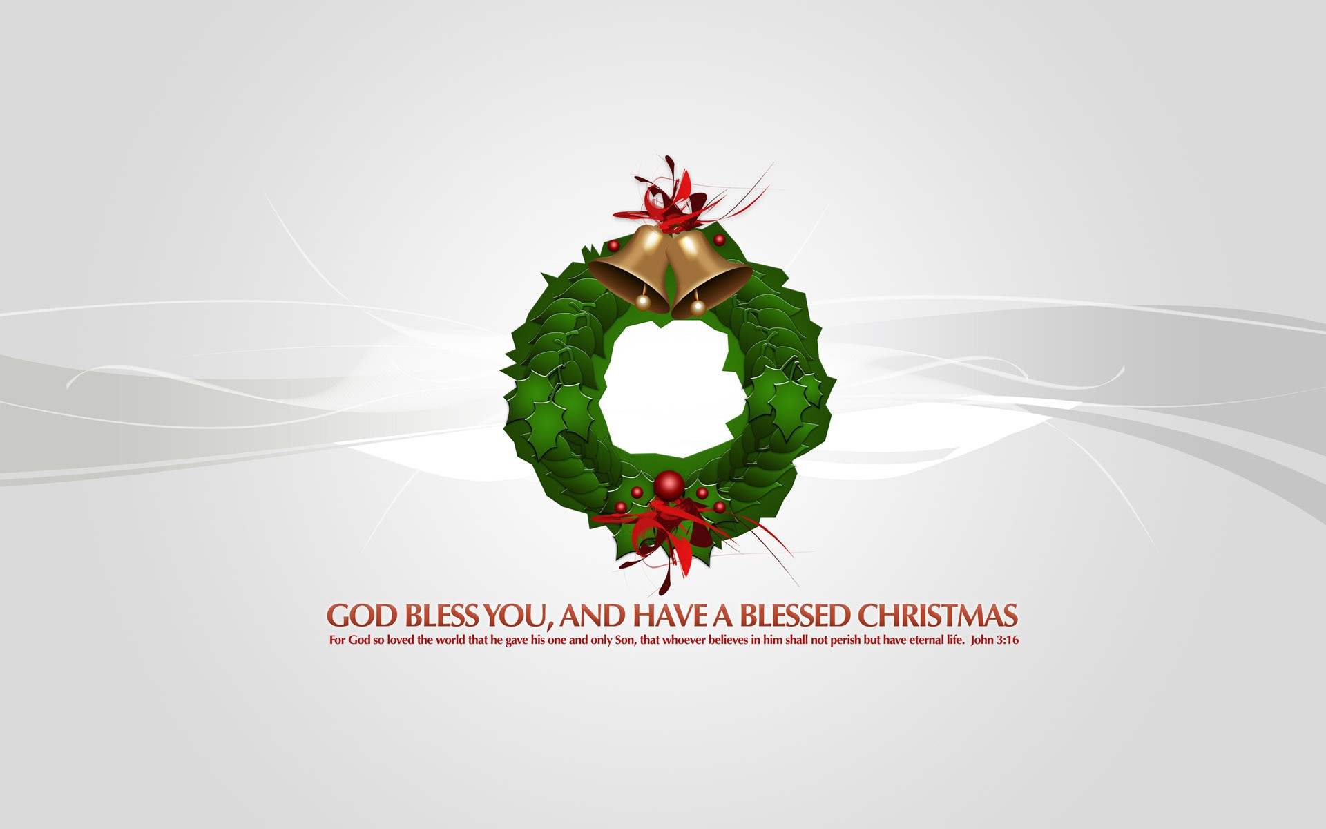God Bless You Xmas2 Wide