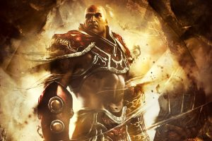 God Of War Ascension Spartan Warrior Wide