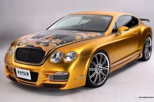 Golden Bentley Wide
