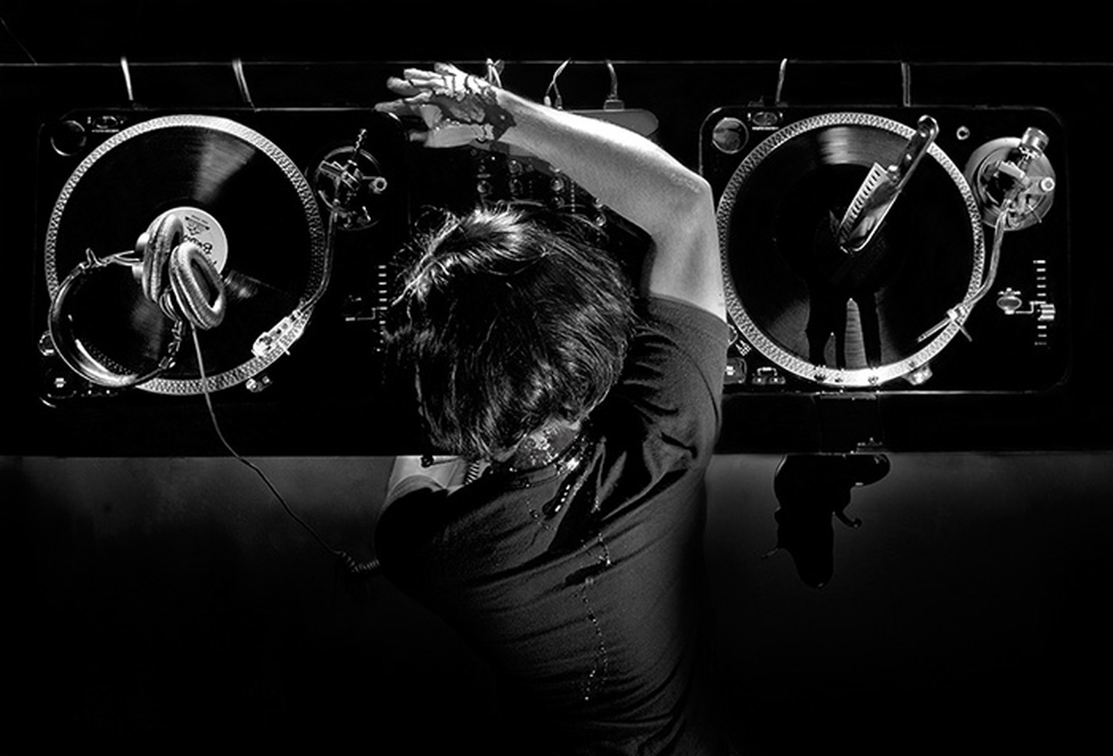 Great Black And White DJ