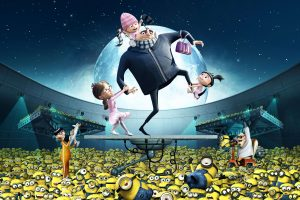 Gru Kids Minions Despicable Me Wide
