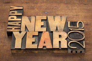 Happy 2015 New Year Wide