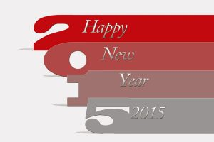 Happy New 2015 Year Wide