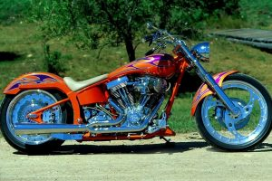 Harley Davidson Side View
