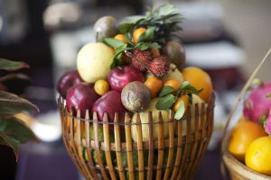 Healthy Fruit Basket Wide