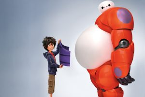 Hiro Baymax In Big Hero 6 Wide