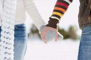 Holding Hands Wide