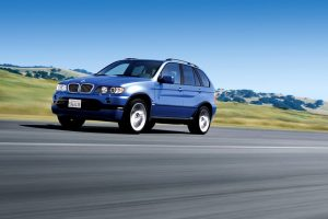 Hot Bmw X5 On Road