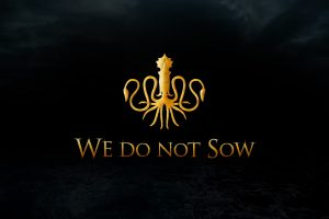 House Greyjoy Logo Wide