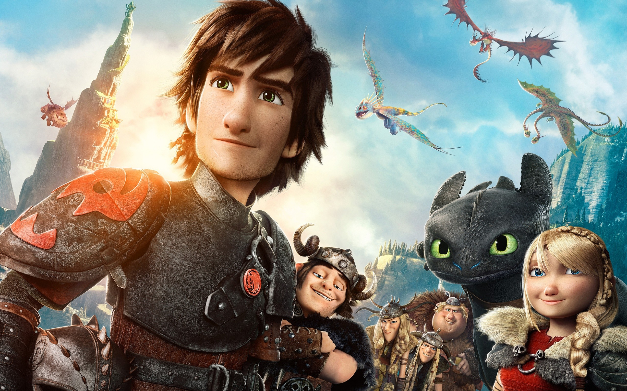 How To Train Your Dragon 2 Movie Wide