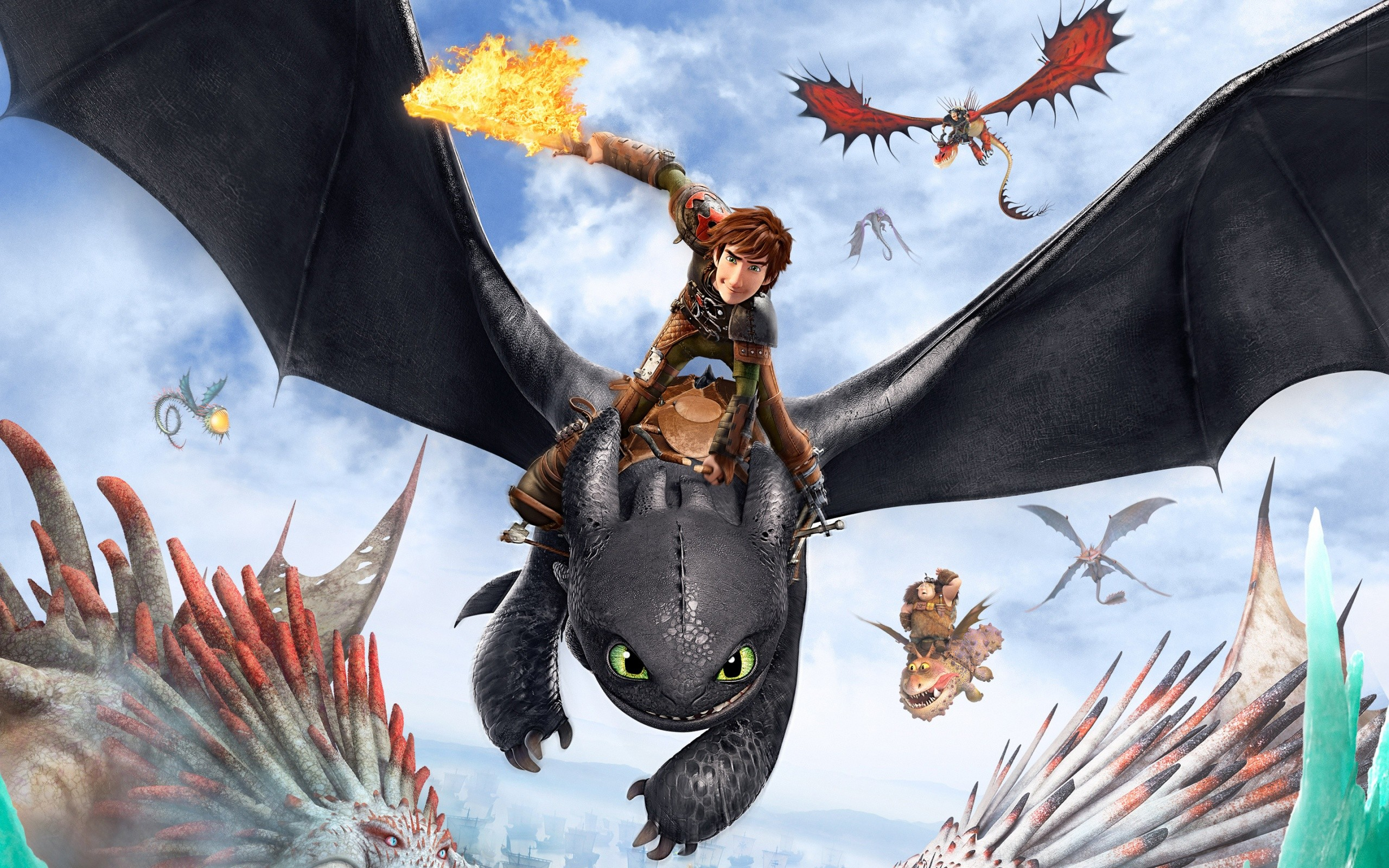 How To Train Your Dragon 2 Poster Wide