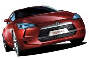 Hyundai Veloster Concept Front Wide