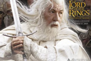 Ian Mckellen In The Lord Of The Rings The Return Of The King