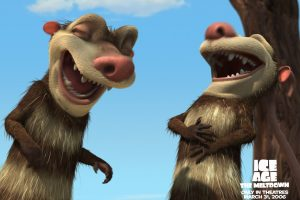Ice Age 2 Mouse Laughing Cartoon Movie