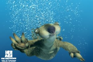 Ice Age 2 Sid Under Water