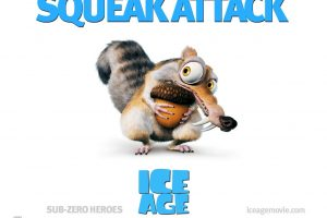 Ice Age 2 Squirrel Movie Poster