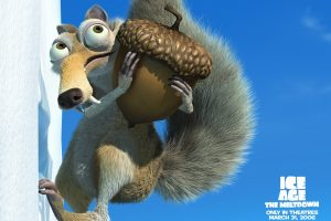 Ice Age 2 Squirrel With Hazelnut