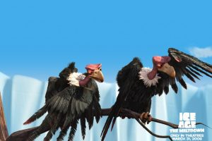 Ice Age 2 Vulture Birds Wallpaper