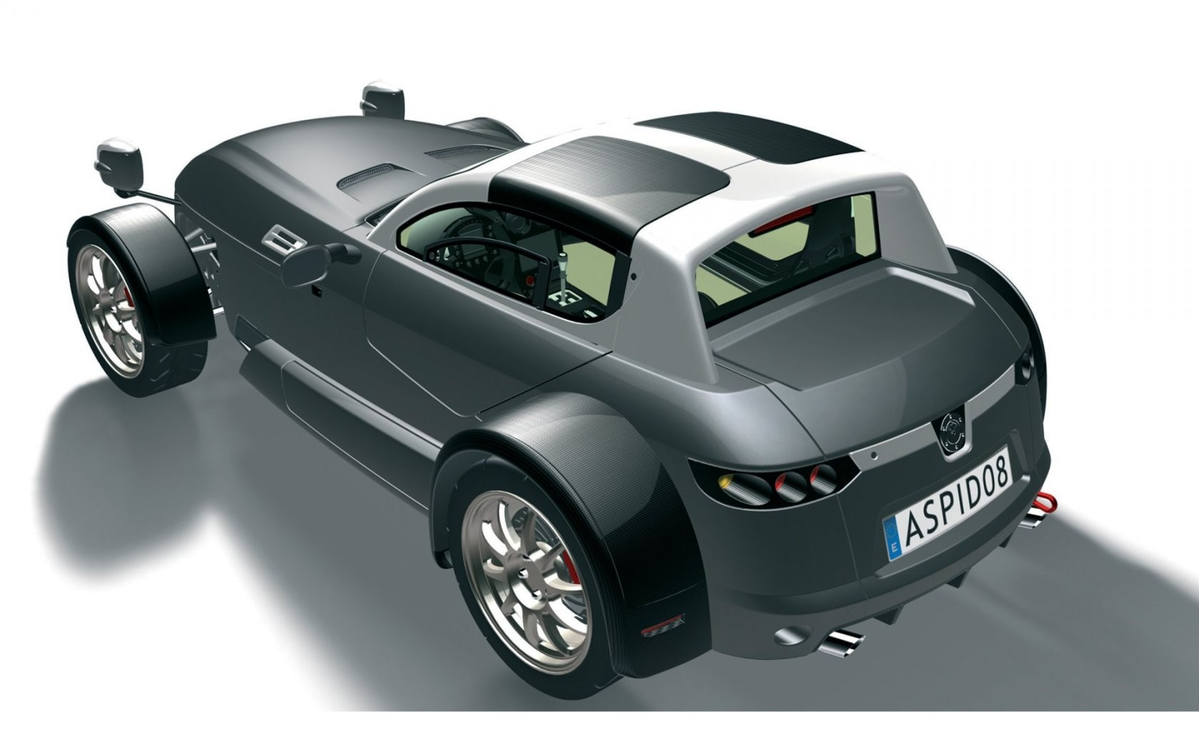 Ifr Automotive Aspid Sports Car Rear Angle Wide