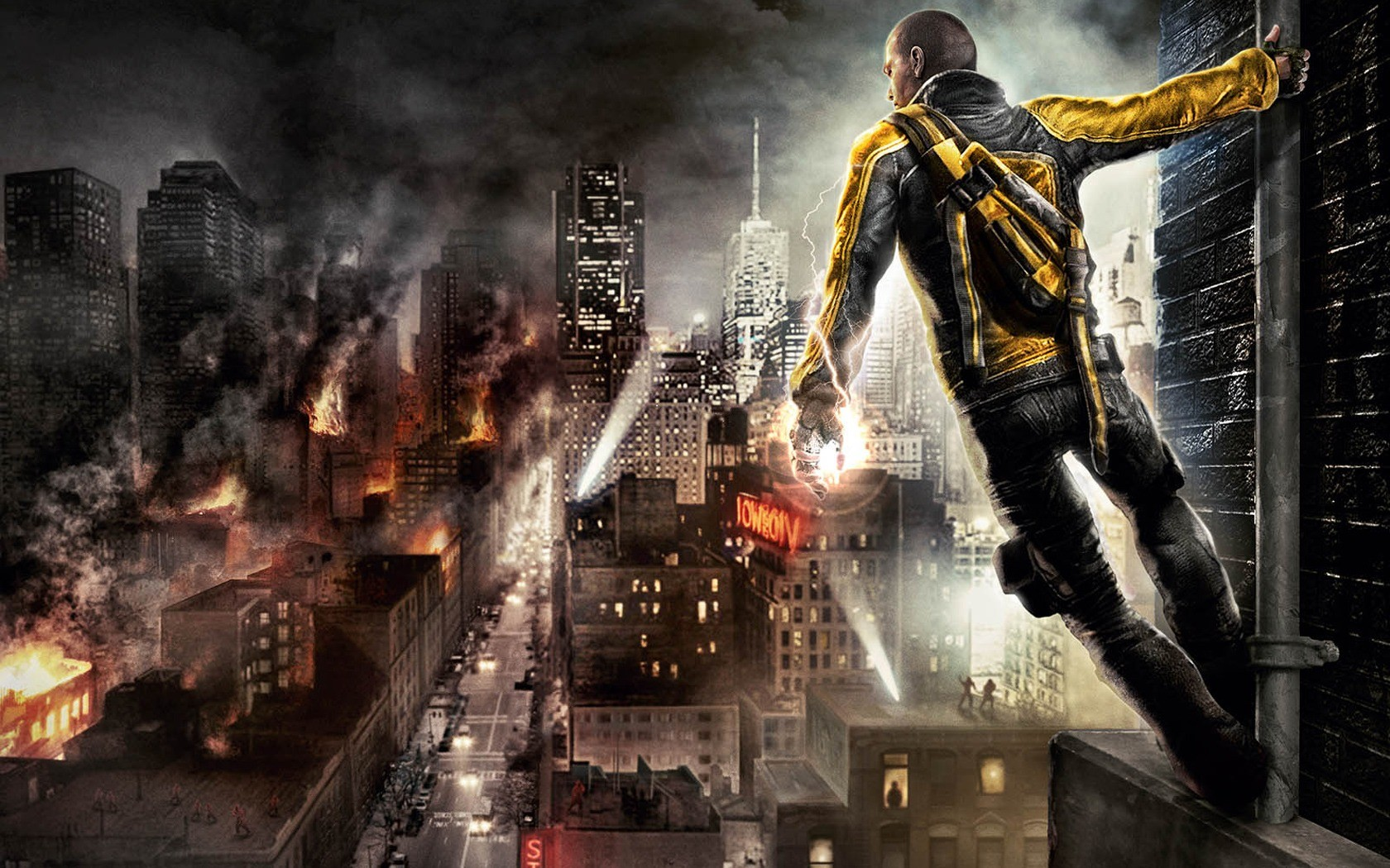 Infamous 1680 X 1050 Widescreen Wide
