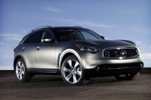 Infiniti Fx50 Front Right View Wide