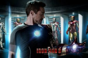 Iron Man 3 Poster Wide
