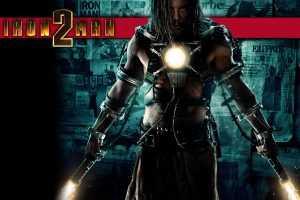 Iron Man Movie 2 Cover Wide