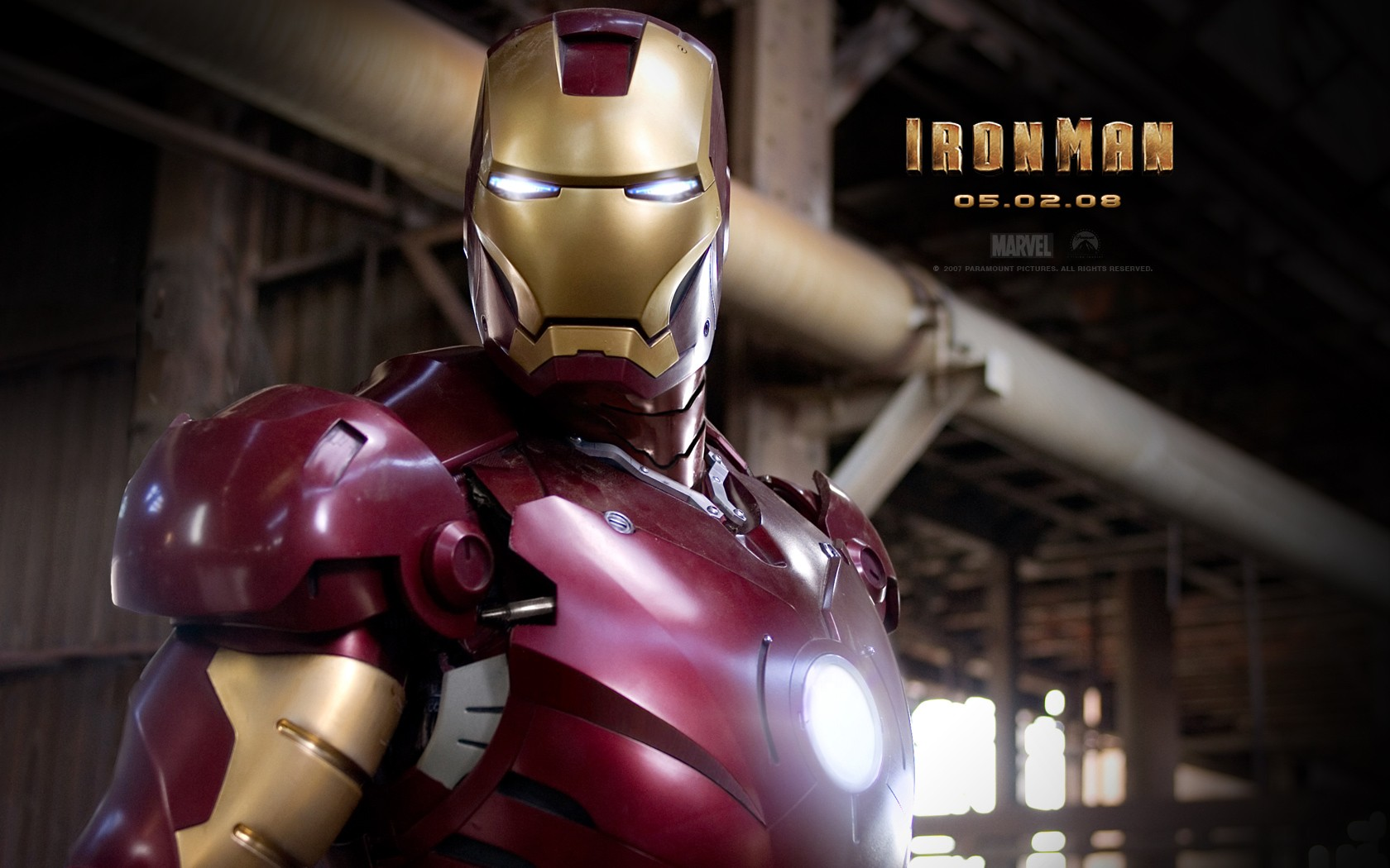 Iron Man Poster Wide