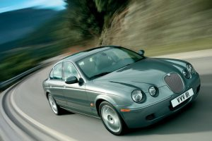Jaguar S Type R In Motion