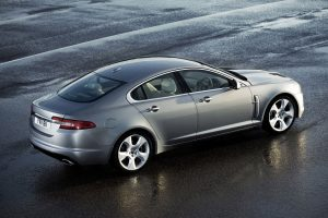 Jaguar Xf 2009 Top Rear View Wide