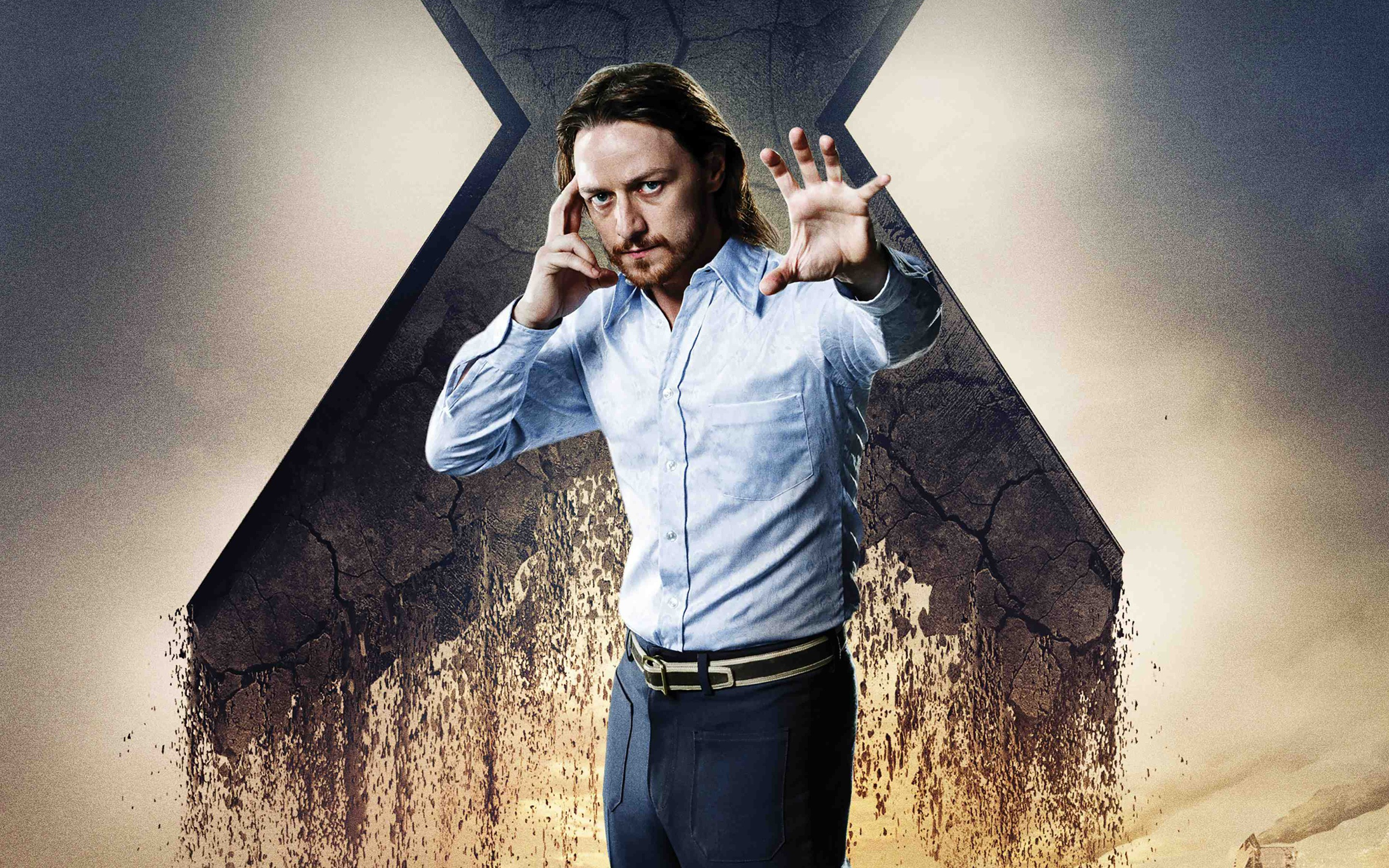 James Mcavoy As Charles Xavier Wide