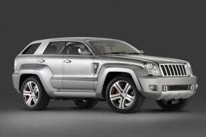 Jeep Trailhawk Silver Wide