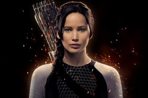 Jennifer Lawrence As Katniss Wide