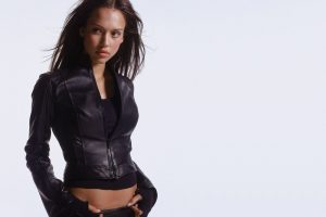 Jessica Alba In Jacket