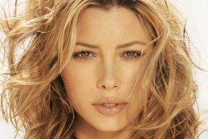 Jessica Biel Face Close Up