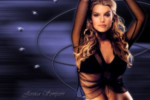 Jessica Simpson Abstract