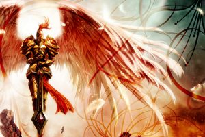 Kayle Angel Of Justice Wide