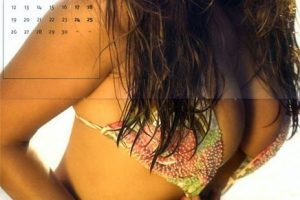 Kelly Brook Calendar 2005 September-Other