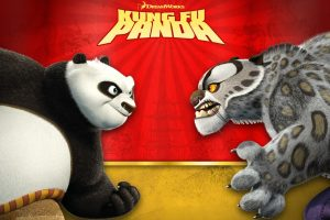 Kung Fu Panda And Tiger