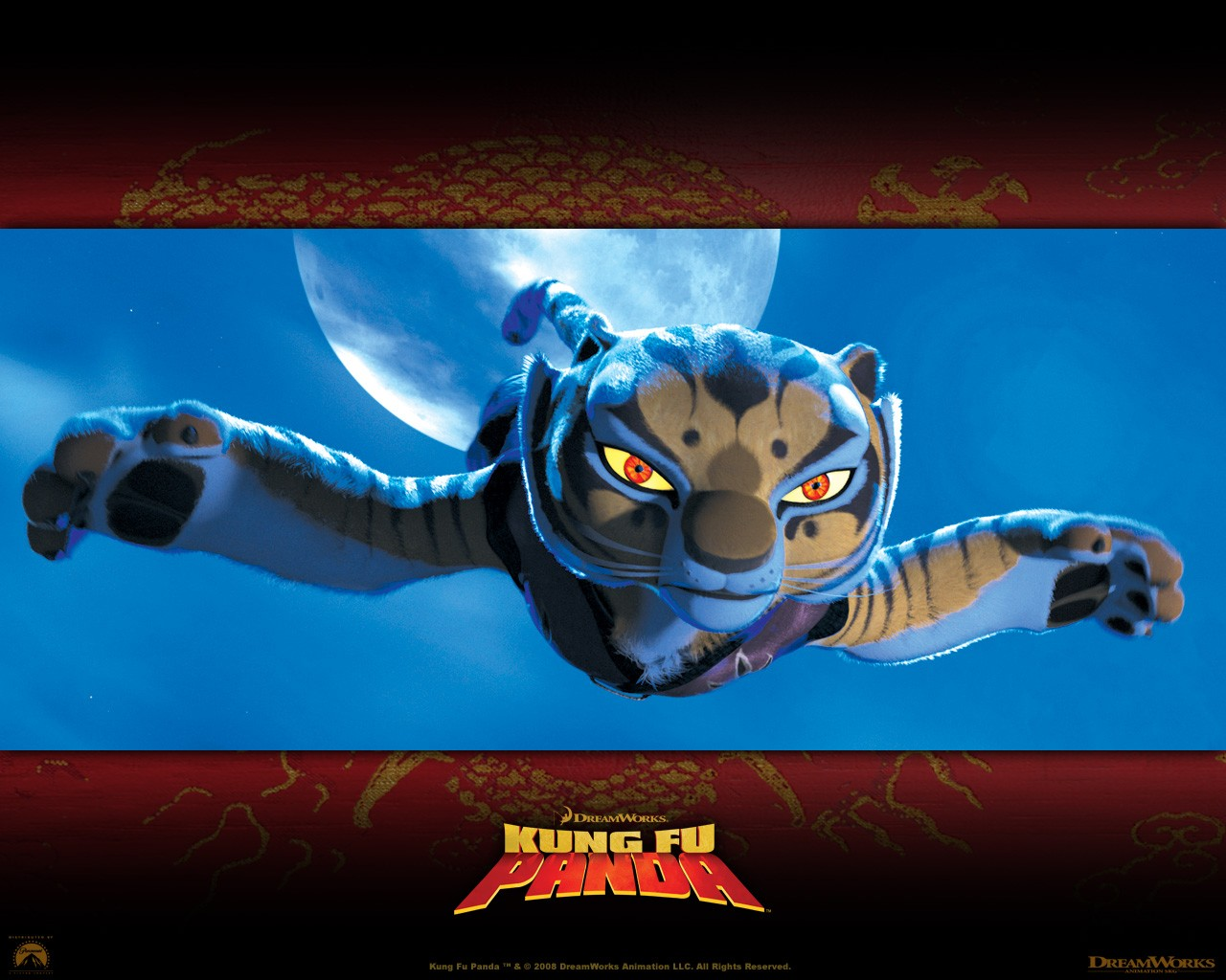 Kung Fu Panda Flying Tiger