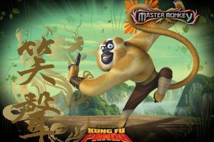Kung Fu Panda Monkey Fighter