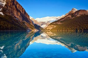 Lake Louise Reflections Wide