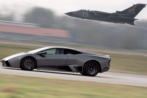 Lambo Reventon Airplane Speed Wide