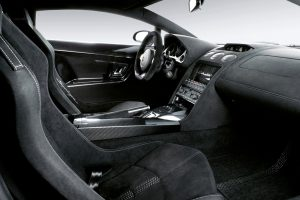 Lamborghini Gallardo Superleggera Luxury Interior View