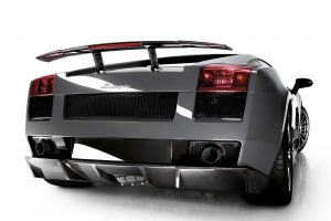 Lamborghini Gallardo Superleggera Rear View