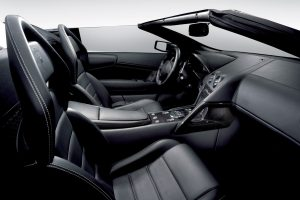 Lamborghini Murcielago Interior View From Right Side To Drivers Seat