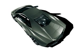 Lamborghini Reventon Top View Wide